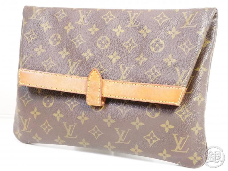 AUTHENTIC PRE-OWNED LOUIS VUITTON VINTAGE MONOGRAM POCHETTE PLIANTE CLUTCH BAG M51805 No.234 191121