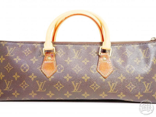 AUTHENTIC PRE-OWNED LOUIS VUITTON VINTAGE MONOGRAM SAC TRICOT TRIANGLE KNITTING NO.76 M51360 191246