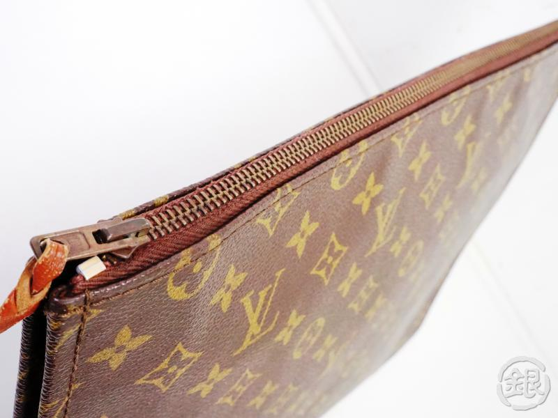 AUTHENTIC PRE-OWNED LOUIS VUITTON VINTAGE MONOGRAM POCHE DOCUMENTS PORTFOLIO GM No.53 M53456 190998