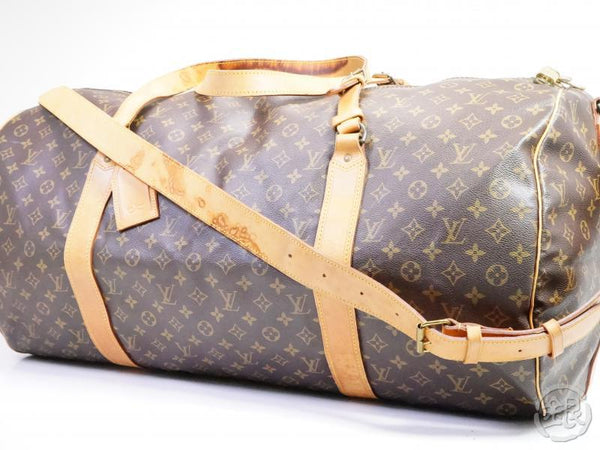 AUTHENTIC PRE-OWNED LOUIS VUITTON MONOGRAM SAC POLOCHON 70 JUMBO TRAVELING DUFFLE BAG M41220 191043