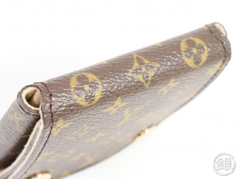 AUTHENTIC PRE-OWNED LOUIS VUITTON MONOGRAM PORTABLE JEWELRY HOLDER CASE LIMITED GOODS 191273