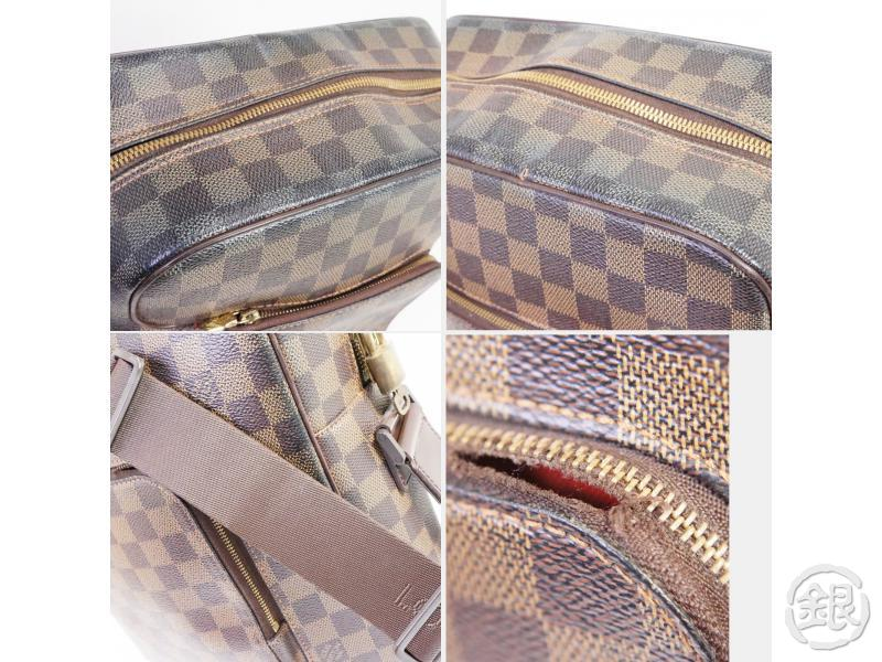 AUTHENTIC PRE-OWNED LOUIS VUITTON LV DAMIER EBENE OLAV MM CROSSBODY MESSENGER BAG N41441 191352