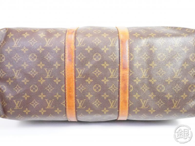AUTHENTIC PRE-OWNED LOUIS VUITTON MONOGRAM VINTAGE KEEPALL BANDOULIERE 50 DUFFLE BAG M41416 190903