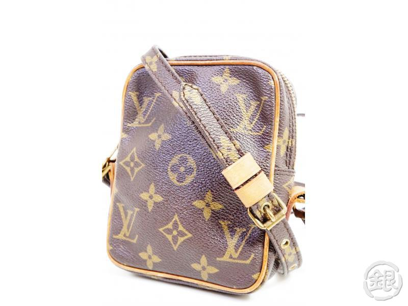 AUTHENTIC PRE-OWNED LOUIS VUITTON MONOGRAM MINI DANUBE CROSSBODY MESSENGER BAG M45268 No. 202 191386