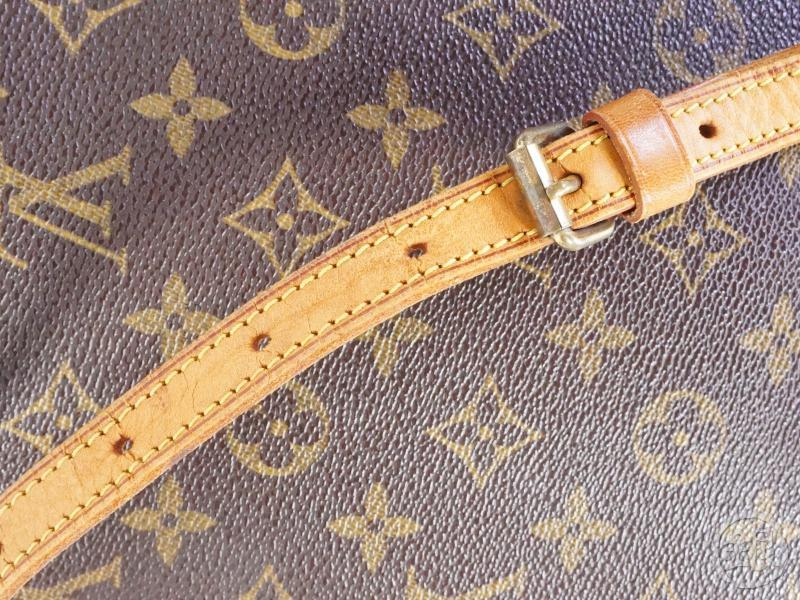 authentic pre-owned louis vuitton monogram drouot crossbody messenger bag m51290 191442