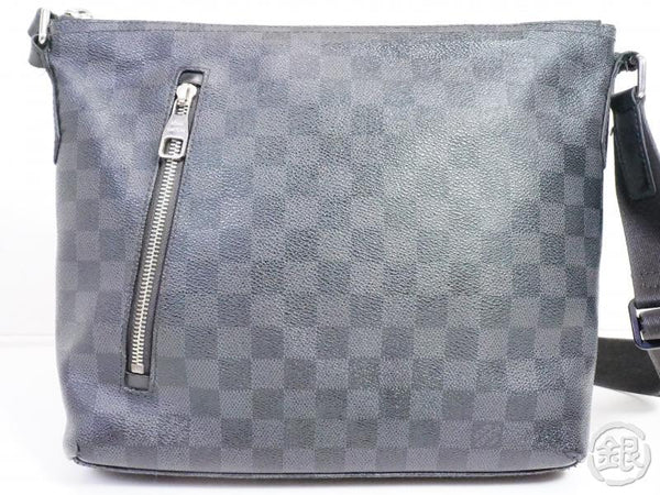 AUTHENTIC PRE-OWNED LOUIS VUITTON DAMIER GRAPHITE MICK PM MESSENGER CROSSBODY BAG N41211 191365