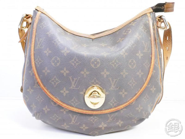 authentic pre-owned louis vuitton lv tulum gm monogram messenger shoulder bag m40075 191195