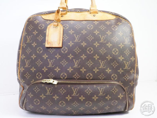 authentic pre-owned louis vuitton monogram evasion sports luggage bag w/ shoes pocket m41443 191500