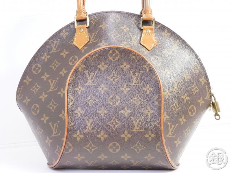 AUTHENTIC PRE-OWNED LOUIS VUITTON MONOGRAM ELLIPSE MM LARGE HAND BAG PURSE M51126 191201
