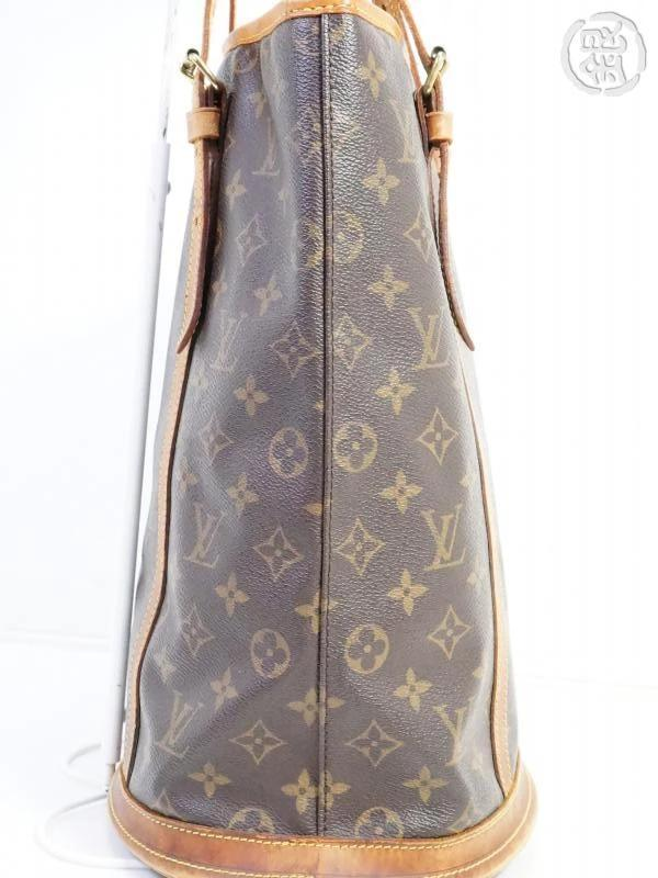 AUTHENTIC PRE-OWNED LOUIS VUITTON LV MONOGRAM LARGE BUCKET GM SHOULDER TOTE BAG M42236 191436