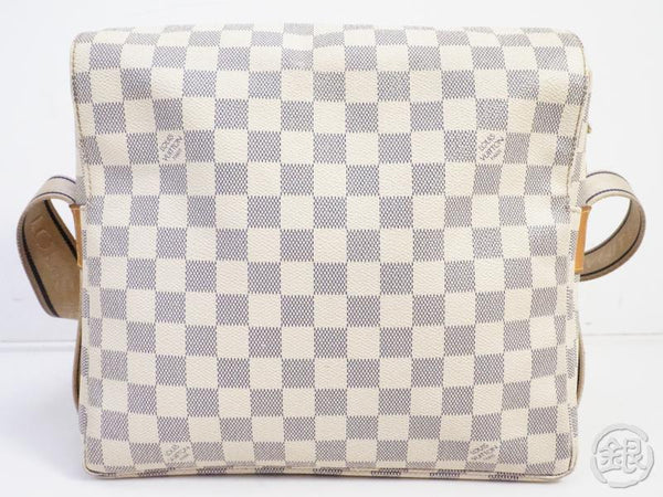 AUTHENTIC PRE-OWNED LOUIS VUITTON DAMIER AZUR NAVIGLIO MESSENGER CROSSBODY BAG N51189 191521