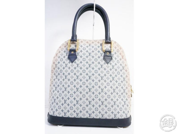 authentic pre-owned louis vuitton lv monogram mini alma haut large hand tote bag m92202 191301