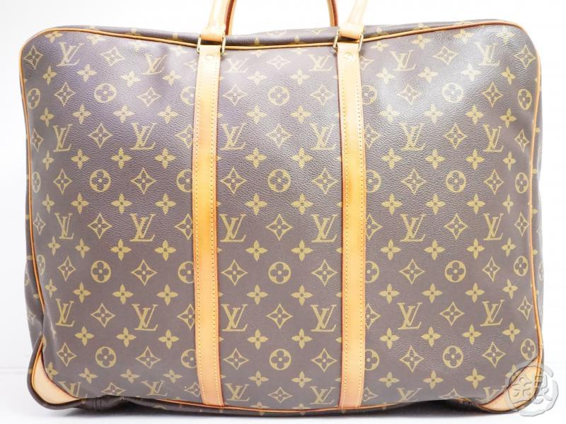 AUTHENTIC PRE-OWNED LOUIS VUITTON MONOGRAM SIRIUS 50 LARGE TRAVELING BAG SOFT SUITCASE M41406 181213