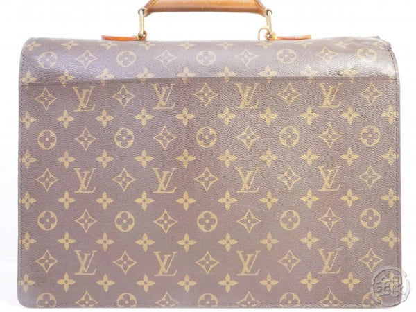authentic pre-owned louis vuitton monogram serviette conseiller briefcase satchel bag m53331 191554