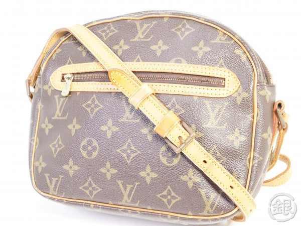 authentic pre-owned louis vuitton vintage monogram senlis crossbody messenger bag m51222 191533