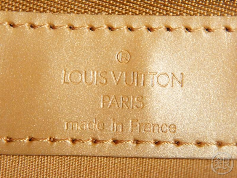 authentic pre-owned louis vuitton monogram mat ambre willwood shoulder tote bag m55107 191629