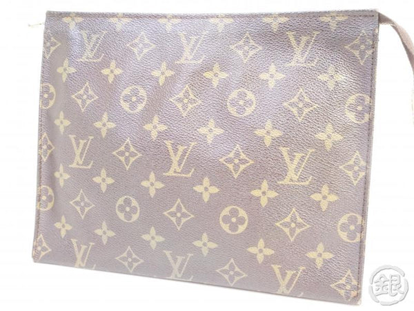 AUTHENTIC PRE-OWNED LOUIS VUITTON MONOGRAM VINTAGE POCHE TOILETTE GM COSMETIC POUCH M47542 181920