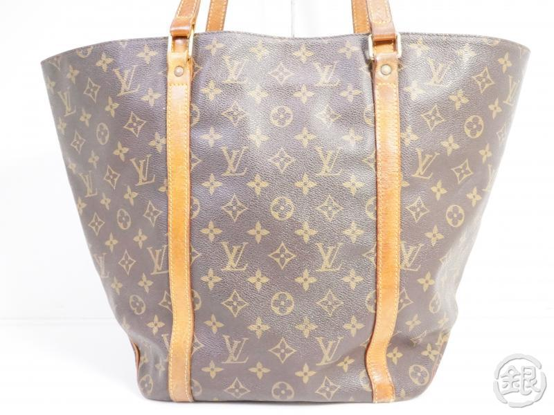 AUTHENTIC PRE-OWNED LOUIS VUITTON MONOGRAM SAC SHOPPING SHOULDER TOTE BAG M51108 191128