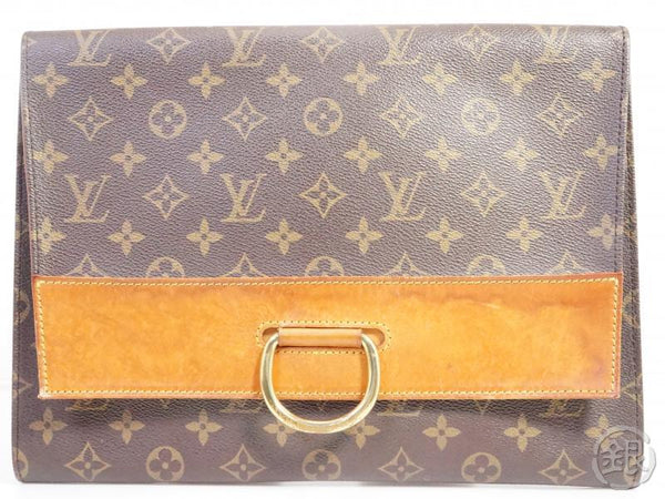 AUTHENTIC PRE-OWNED LOUIS VUITTON MONOGRAM VINTAGE POCHETTE IENA 28 CLUTCH BAG 191664