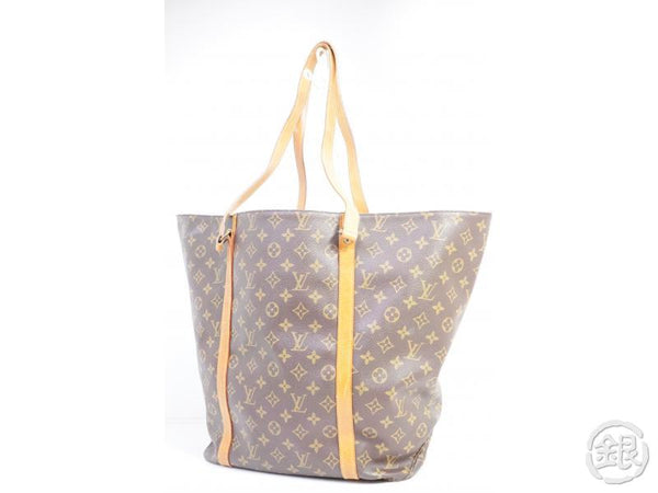 AUTHENTIC PRE-OWNED LOUIS VUITTON MONOGRAM SAC SHOPPING 60 GM SHOULDER TOTE BAG M51110 191488