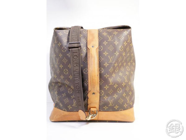 AUTHENTIC PRE-OWNED LOUIS VUITTON MONOGRAM SAC MARINE LARGE SHOULDER TRAVEL BAG M41235 191582