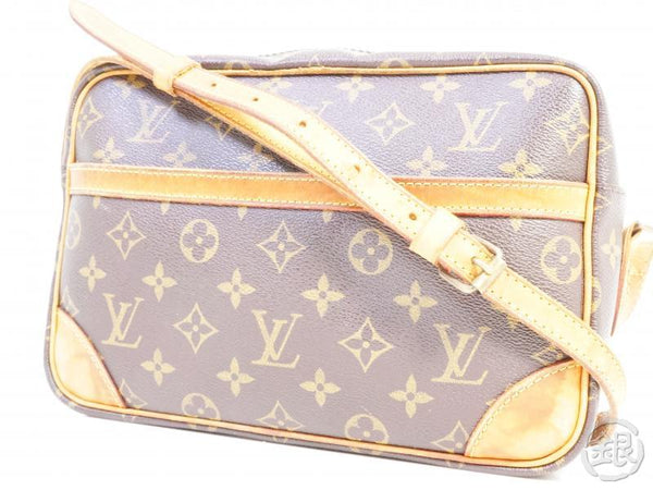 AUTHENTIC PRE-OWNED LOUIS VUITTON MONOGRAM TROCADERO MM CROSSBODY MESSENGER BAG M51274 199010