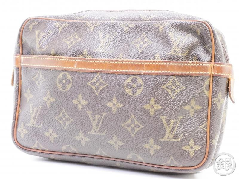 AUTHENTIC PRE-OWNED LOUIS VUITTON MONOGRAM POCHETTE COMPIEGNE 23 PM POUCH CLUTCH BAG M51847 190752