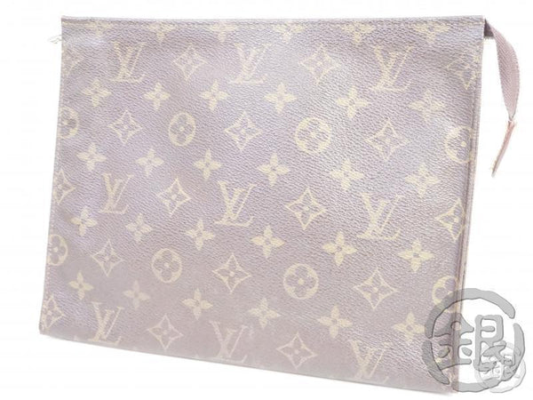 AUTHENTIC PRE-OWNED LOUIS VUITTON MONOGRAM VINTAGE POCHE TOILETTE GM COSMETIC POUCH M47542 191761