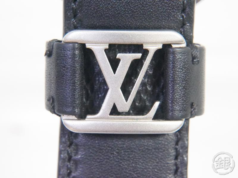 AUTHENTIC PRE-OWNED LOUIS VUITTON DAMIER ANFINI DRAGONNE KEY RING METAL LOGO M62710 191375