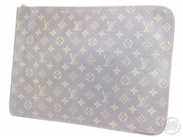 authentic pre-owned louis vuitton monogram poche documents portfolio gm case bag m53456 190664