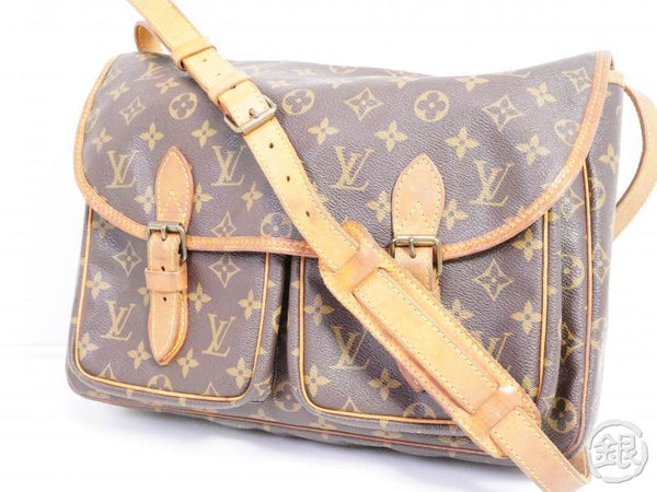 AUTHENTIC PRE-OWNED LOUIS VUITTON LV MONOGRAM VINTAGE SAC BAZAS JAPON MESSENGER BAG M99013 191356