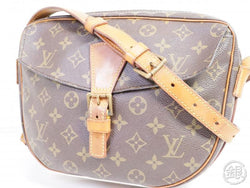 authentic pre-owned louis vuitton vintage monogram jeune fille gm crossbody bag m51225 191709