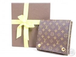 authentic pre-owned louis vuitton monogram portable jewelry holder case limited goods 191740