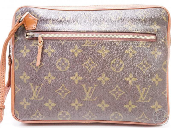 authentic pre-owned louis vuitton vintage monogram pochette sport clutch bag no.183 191833