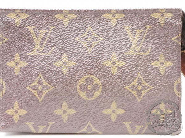 AUTHENTIC PRE-OWNED LOUIS VUITTON MONOGRAM POCHE TOILETTE 15 COSMETIC CASE PM BAG M47546 B191814
