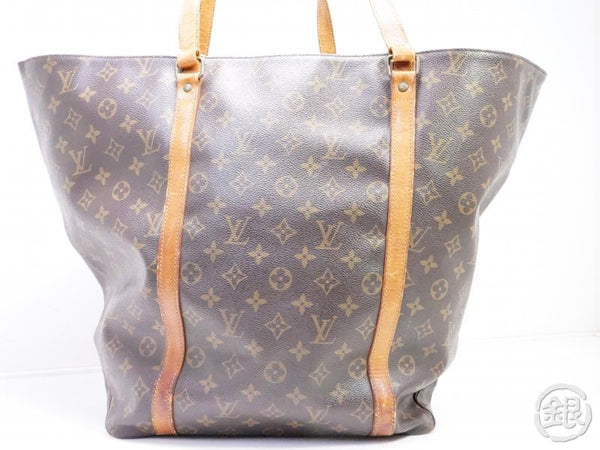 AUTHENTIC PRE-OWNED LOUIS VUITTON MONOGRAM SAC SHOPPING 60 GM SHOULDER TOTE BAG M51110 191845