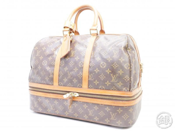 AUTHENTIC PRE-OWNED LOUIS VUITTON VINTAGE MONOGRAM SAC SPORT SOFT LUGGAGE BAG M41444 161850