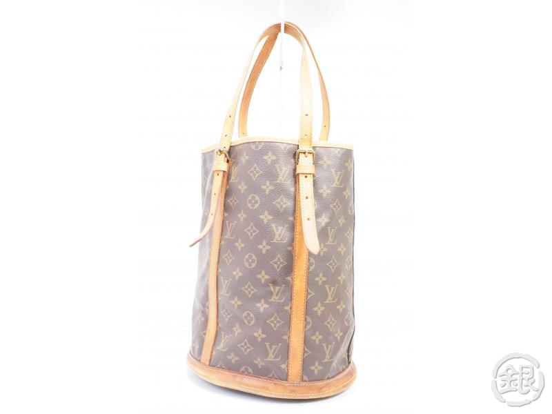 AUTHENTIC PRE-OWNED LOUIS VUITTON LV MONOGRAM LARGE BUCKET GM SHOULDER TOTE BAG M42236 191934