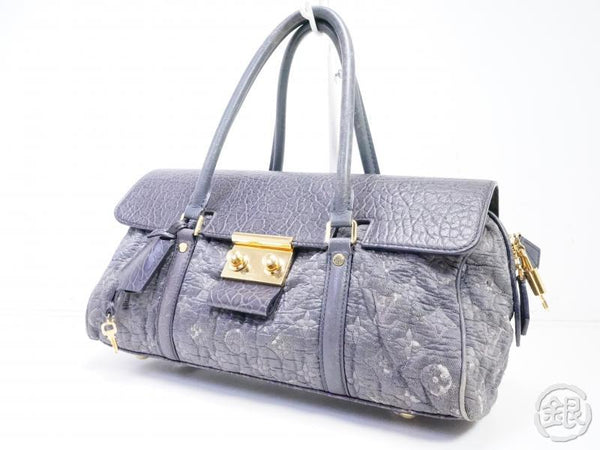 AUTH PRE-OWNED LOUIS VUITTON LIMITED 2010-11 COLLECTION MONOGRAM VOLUPTE BEAUTE BAG M93473 191928