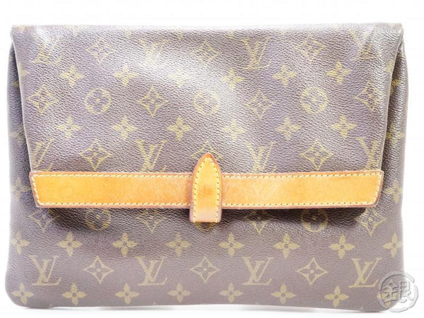 authentic pre-owned louis vuitton vintage monogram pochette pliante clutch bag m51805 no.234 191914