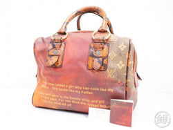 AUTHENTIC PRE-OWNED LOUIS VUITTON LIMITED RICHARD PRINCE MONOGRAM JOKES  MANCRAZY BAG M95737 162440