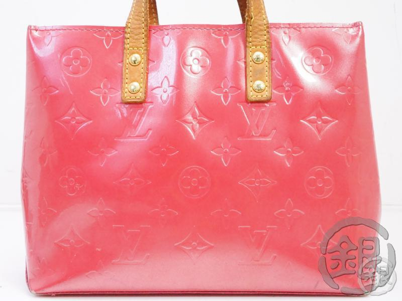 AUTHENTIC PRE-OWNED LOUIS VUITTON VERNIS FRAMBOISE PINK READE PM MINI HAND TOTE BAG M9132F B191899
