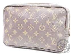 AUTHENTIC PRE-OWNED LOUIS VUITTON LV MONOGRAM TROUSSE TOILETTE 23 COSMETIC POUCH M47524 B191596