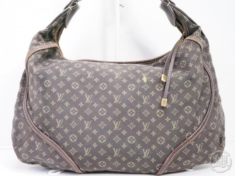 AUTHENTIC PRE-OWNED LOUIS VUITTON MONOGRAM MINI LIN EBENE MANON MM SHOULDER TOTE BAG M95619 191950