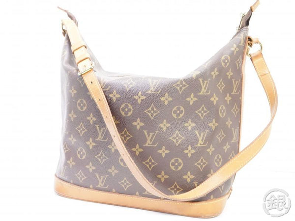 authentic pre-owned louis vuitton lv monogram amfar three vanity bag sharon stone m47275 191873