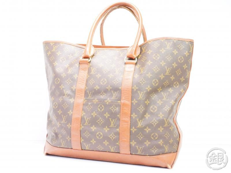 authentic pre-owned louis vuitton vintage monogram sac weekend gm tote bag m42420 no.184 191936
