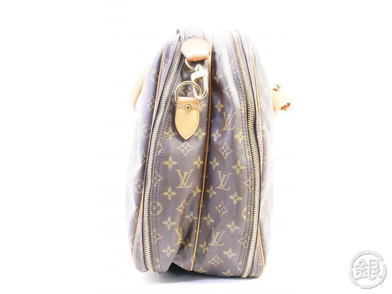 AUTHENTIC PRE-OWNED LOUIS VUITTON MONOGRAM ALIZE 2 POCHES TRAVELING SOFT SUITCASE M41392 191907