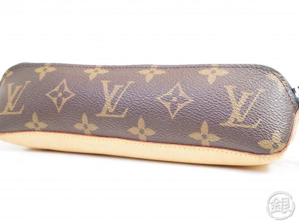 AUTHENTIC PRE-OWNED LOUIS VUITTON MONOGRAM TROUSSE ELIZABETH NOIR PEN CASE POUCH BAG GI0008 191975