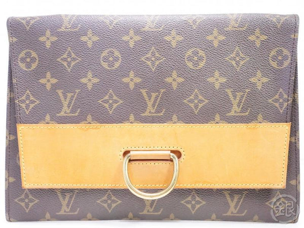 authentic pre-owned louis vuitton monogram vintage pochette iena 28 clutch bag 190828
