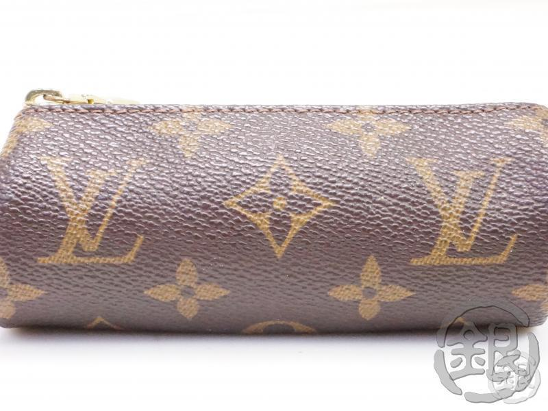 AUTHENTIC PRE-OWNED LOUIS VUITTON MONOGRAM ETUI 3 BALL DE GOLF POUCH PURSE M58249 B192019